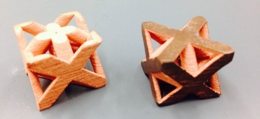 Additive Manufacturing of Copper Cellular Materials